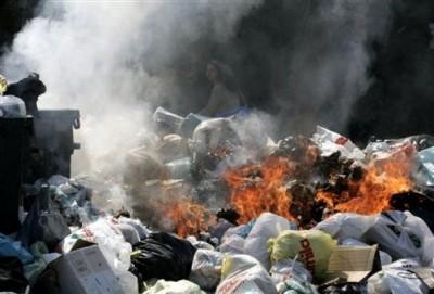 خطرات بهداشتی سوزاندن زباله