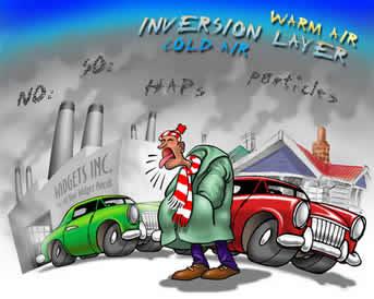 جزوه کامل آلودگی هوا + دانلود جزوه آلودگی هوا بهداشت محیط