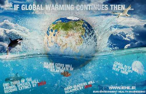 تاثیرات گرمایش جهانی بر کیفیت آب