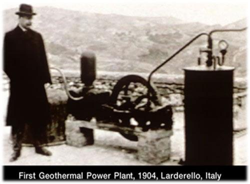 اولین دستگاه تولید انرژی زمین گرمایی