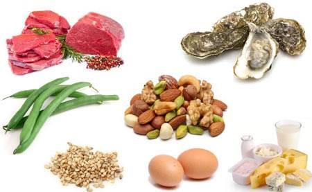 کمبود روی در بدن چه عوارضی دارد + مواد غذایی حاوی روی