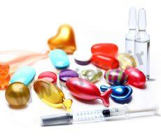اختصارات اشکال مختلف دارویی در نسخه پیچی