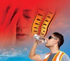 مواجهه با گرما و فاکتورهای محیطی موثر در ریسک بیماری ناشی از گرما