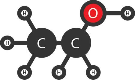 فرمول شیمیایی اتانول,میکروب کشی اتانول