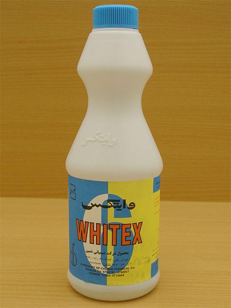 هیپوکلریت سدیم خانگی whitex,وایتکس خانگی,فرمول شیمیایی وایتکس,نحوه مصرف وایتکس
