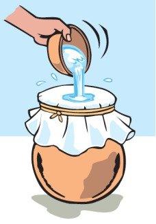 فیلتر کردن آب پارچه پنبه ای پاکسازی آب